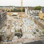 Die Baugrube von oben © Dörthe Boxberg