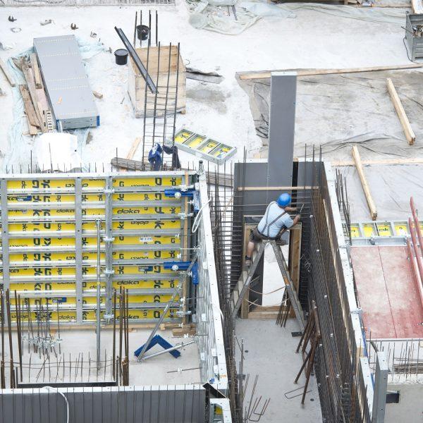 Die Neue Mitte Porz nimmt immer mehr Form an © Dörthe Boxberg