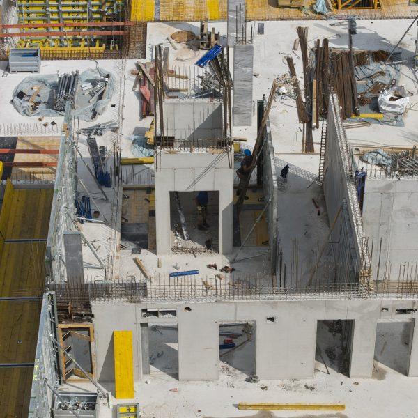 Haus 1 wächst in die Höhe © Dörthe Boxberg