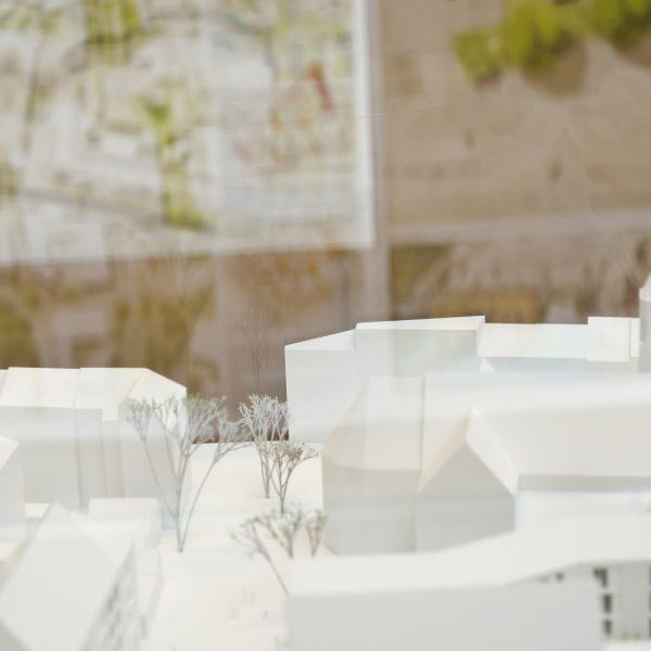 3D-Modell der neuen Mitte Porz © Dörthe Boxberg