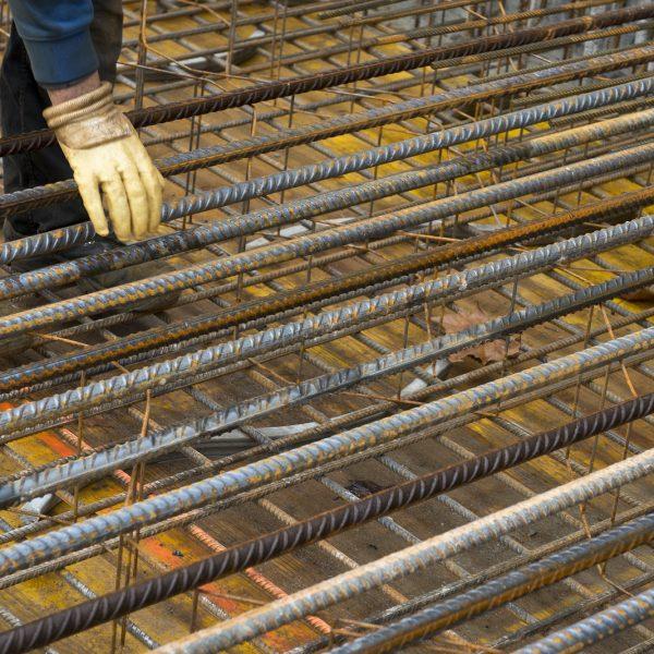 Stahlverstärkung der Decken und Böden © Dörthe Boxberg
