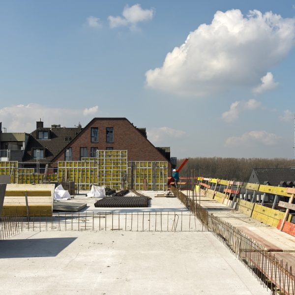 Fertig betonierter Deckenbereich © Dörthe Boxberg