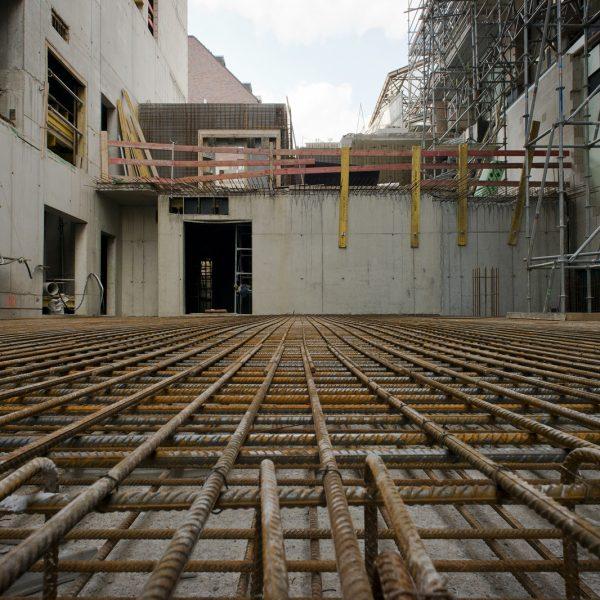 Zukünftiger Anlieferungsbereich für das Erdgeschoss © Dörthe Boxberg