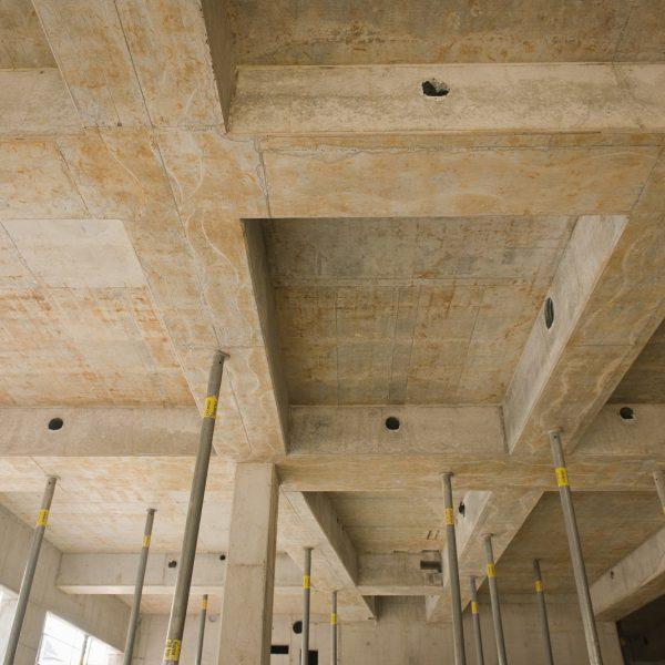 Unterzüge im Bereich des Erdgeschosses © Dörthe Boxberg
