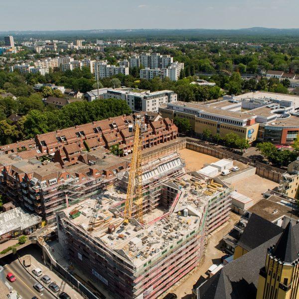 Blick auf die Neue Mitte Porz aus Südwesten © Moritz Gröne