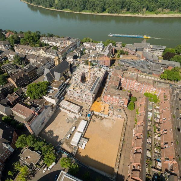Im Fokus: alle drei Baufelder (Blick von Osten) © Moritz Gröne