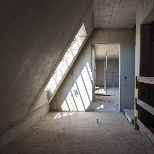 Treppenhaus des Dachgeschosses © Dörthe Boxberg