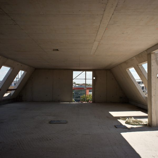 Dachgeschosswohnung im Rohbauzustand © Dörthe Boxberg