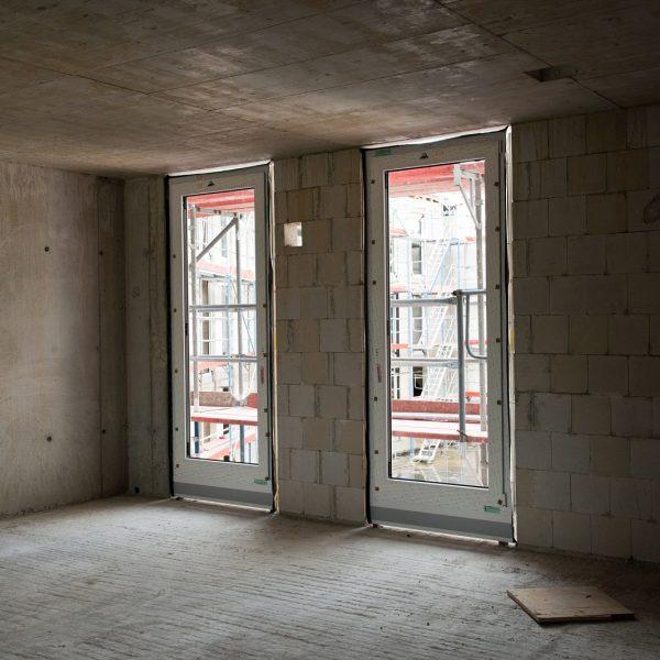 Montage der Standardfenster © Dörthe Boxberg