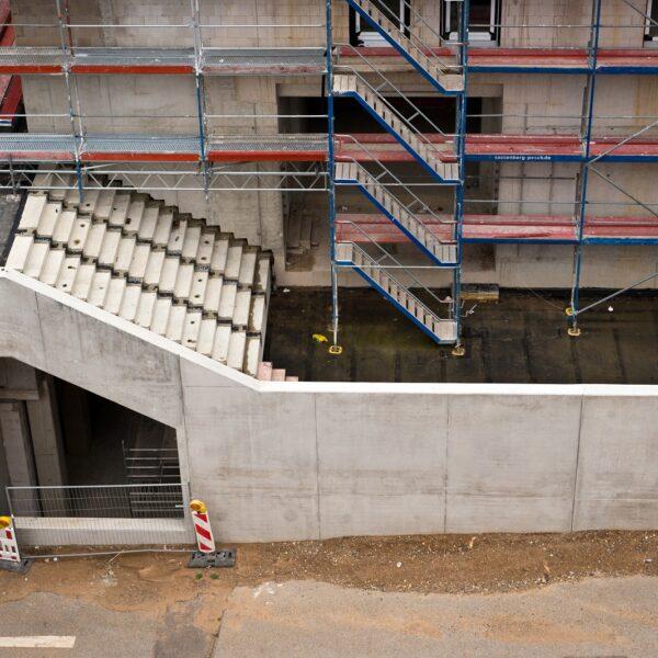 Treppenaufgang zur Brücke © Dörthe Boxberg