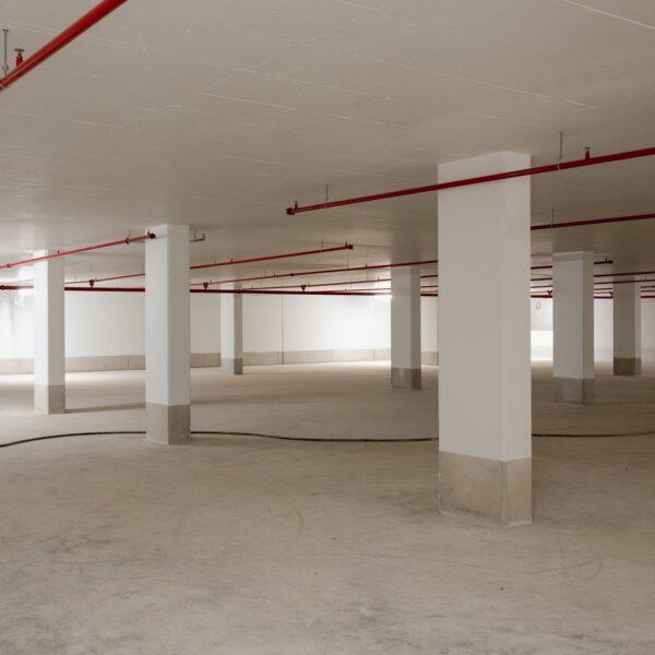 Tiefgarage 2. Untergeschoss © Dörthe Boxberg