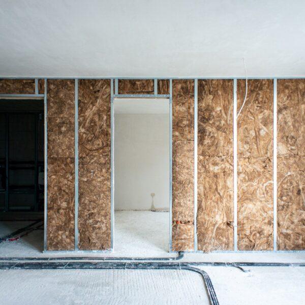 Trockenbauarbeiten in Haus 1 © Dörthe Boxberg