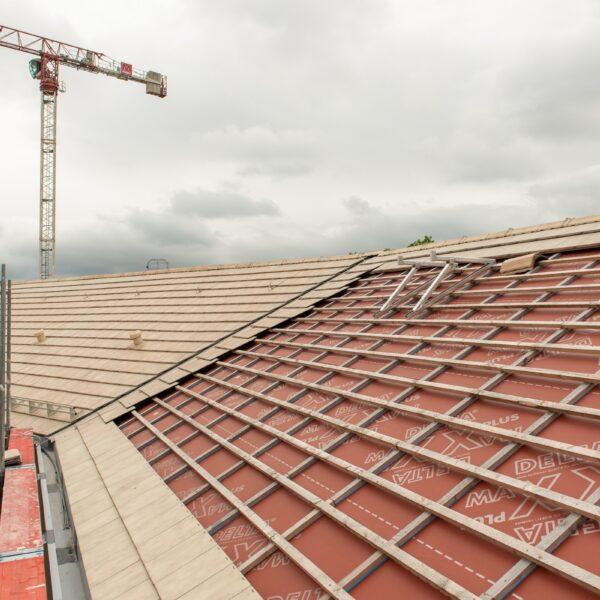 Dachdeckerarbeiten Haus 1 © Daniel Poštrak